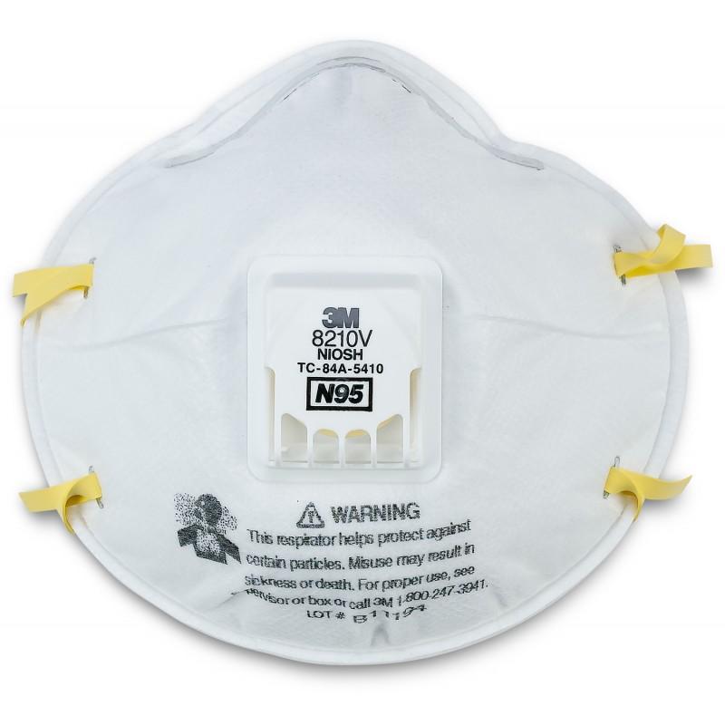 3M 8210V N95 Respirator