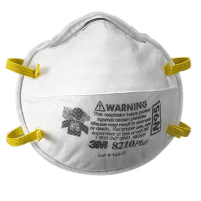 A dust mask