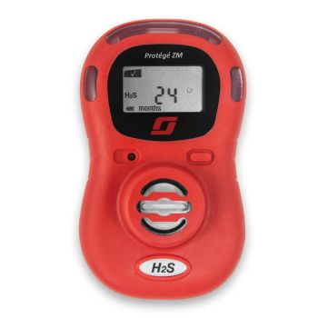3M Scott Protégé ZM Single Gas H2S Monitor (096-3459-02) in Red