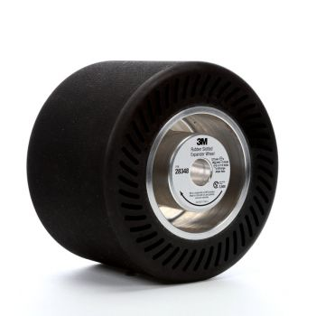 3M™ Rubber Slotted Expander Wheel 28348, 5 in x 3-1/2 in 5/8 in Arbor Hole, 1 per case