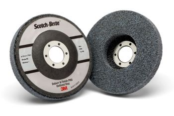 Scotch-Brite™ Deburr and Finish PRO Unitized Disc, T27, 4 1/2 in x 7/8 in, 6C MED+, 5 per case