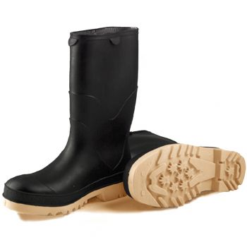 Tingley StormTracks Kids Boot Black Upper Tan Outsole