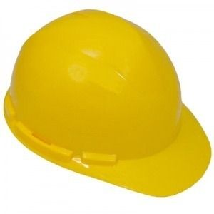 Construction Hard Hat with Pin Lock Suspension
