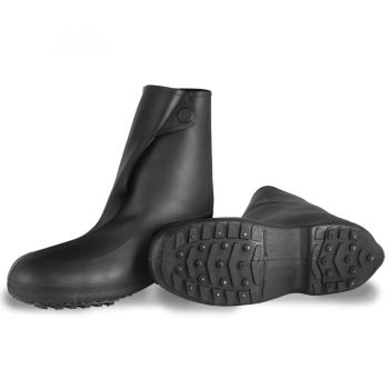 "Tingley Winter-Tuff 10"" Traction Overshoe Black Cleated/Studded Outsole"
