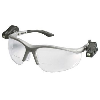 AO Safety Light Vision 2 LED Bi Focal Safety Glasses (Case of 10)