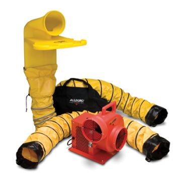 Allegro 9520-50M Confined Space Ventilation Centrifugal Blower Kit
