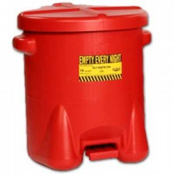 Eagle 6 Gallon Safety Can with Foot Lever