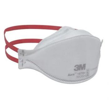 3M 1870+ Aura N95 Health Care Particulate Respirator & Surgical Mask, Case of 440