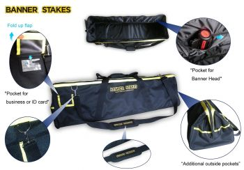 Banner Stakes 20120065 Banner Stakes Utility Bag