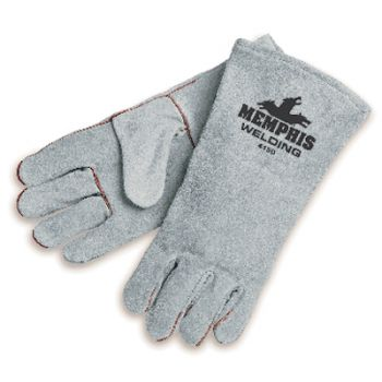 Gray Select Leather Welder Glove