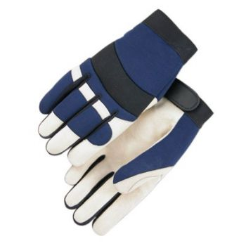 Majestic Bald Eagle Thinsulate Lined Pigskin Mechanics Gloves 1 Pair