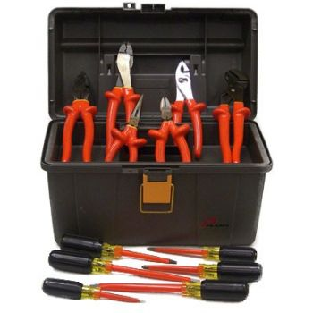 Basic Hybrid Electrician's Insulated Tool Kit