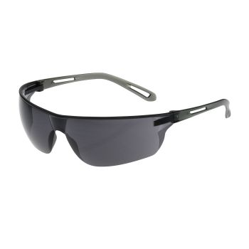 PIP Bouton Optical Zenon Z-Lyte Safety Glasses Gray Anti-Scratch Lens 144 Pairs