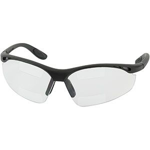 PIP 250-25-2525 Double Mag Readers Safety Glasses +2.50 72/CS
