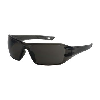 PIP Captain Rimless Safety Glasses with Gray Lens and Anti-Scratch / FogLess 3Sixty Coating