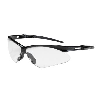 PIP Anser Semi-Rimless Safety Glasses with Black Frame, Clear Lens and Anti-Scratch Coating (144 Pair)