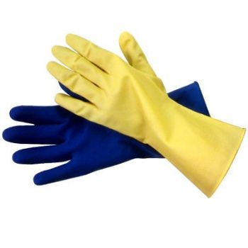 Diamond Grip Unlined Latex Gloves