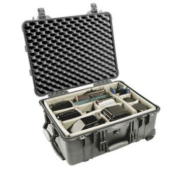 Pelican 1564 Case with Padded Dividers