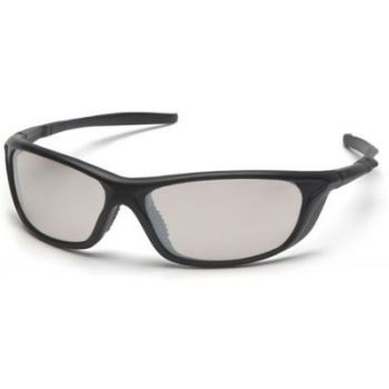 Pyramex Azera Safety Glasses - Indoor/Outdoor Lens with Black Frame 1 Pair