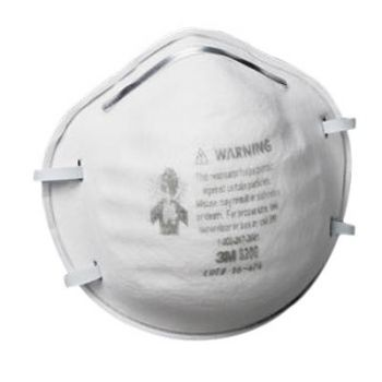 3M™ 8200 N95 Particulate Respirator (Case of 160)