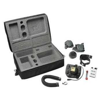 3M™ Tight-Fitting Powered Air Purifying Respirator (PAPR) Assembly RBE-LB, with Lithium Battery and Belt -- OBSOLETE