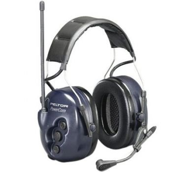 Peltor PowerCom BRS Series 2-Way Headset - Headband Model