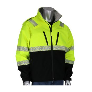PIP Hi VIS Bomber Jacket Yellow Color - 1 EA