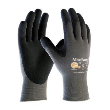 PIP 34-900V/S ATG Seamless Knit Nylon Glove with Nitrile Coated Foam Grip on Palm & Fingers Vend Ready Small 144 PR