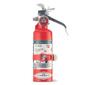 Halotron Fire Extinguisher - 1.4 lbs