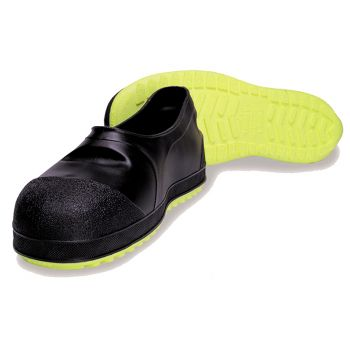 Tingley Steel Toe Overshoe Black Upper Yellow Cleated Outsole Steel Toe