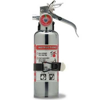 Chrome BC Dry Chemical Fire Extinguisher