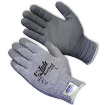 PIP 19-D470/M ATG Seamless Knit Dyneema / Engineered Yarn Glove with Nitrile Coated MicroFoam Grip on Palm & Fingers Medium 6 DZ