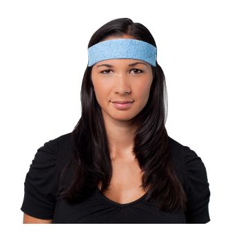 PIP EZ-Cool Cellulose Sponge Sweatband Blue Color 1000/Case
