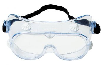 3M™ 334 Splash Safety Goggles Anti-Fog 40661-00000-10, Clear Anti Fog Lens, 10 EA/Case