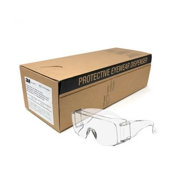 3M™ Tour-Guard™ III Protective Eyewear 41110-00000-100 Clear, Dispenser Box, Regular (Box of 20)