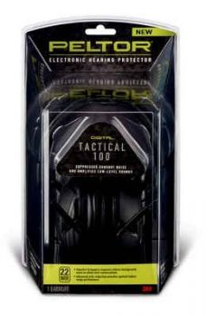 3M™ Peltor™ Sport Tactical 100 Electronic Hearing Protector - TAC100-OTH