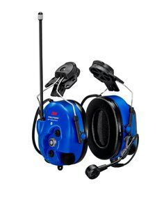3M PELTOR WS LiteCom PRO III Headset - Hard Hat Attached - Intrinsically Safe - MT73H7P3E4D10NA-50