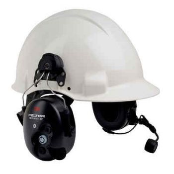 3M™ Peltor™ WS™ ProTac™ XP Communication Headset featuring Bluetooth™ technology -  MT15H7AWS5-77-WS - Hard Hat Model