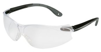 3M™ Virtua™ V4 Protective Eyewear 11672-00000-20 Clear Anti-Fog Lens, Black/Gray Temple 20 EA/Case