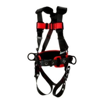 3M Protecta 1161309 Construction Style Positioning Harness, 1 Each