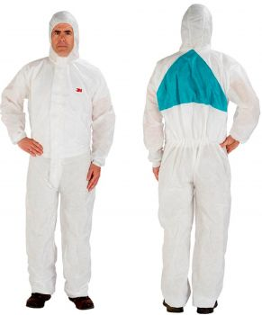 3M Disposable Protective Coverall Safety Work Wear 4520-BLK-XL 25 EA/Case
