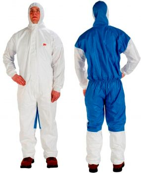3M Disposable Protective Coverall Safety Work Wear 4535-L 20 EA/Case