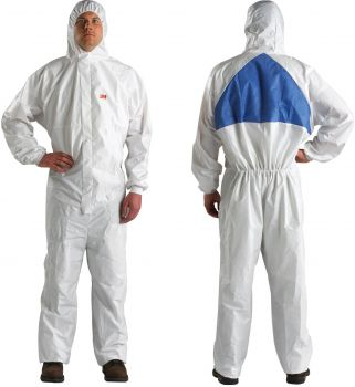 3M Disposable Protective Coverall Safety Work Wear 4540+BLK-XXL 25 EA/Case
