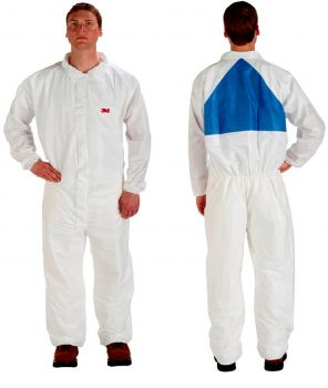 3M Disposable Protective Coverall Safety Work Wear 4540+CS-BLK-L 25 EA/Case