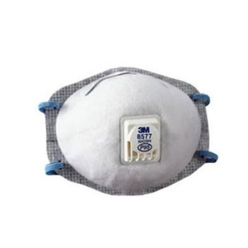 3M 8577 Particulate Respirator, P95, with Nuisance Level Organic Vapor Relief, Box of 10