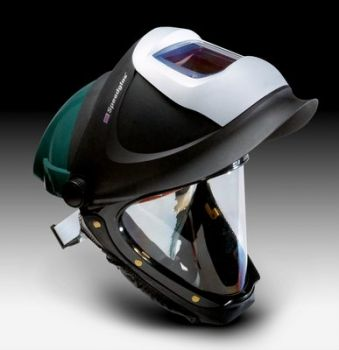 3M™ Hard Hat L-705SG, with Welding Shield and Wide-view Faceshield