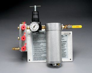 3M™ Compressed Air Filter and Regulator Panel W-2806/07006(AAD), 50 cfm, 3-5 outlets