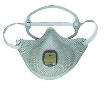 Moldex EZ ON Particulate N95 Respirator Ventex Valve Medium/Large 10/Bag