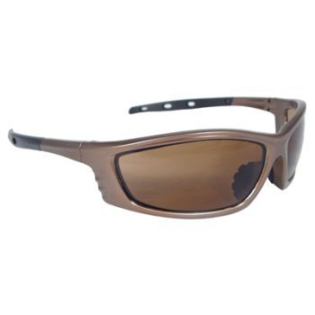 Radians Chaos Safety Glasses - Mocha Frame, Coffee Lens