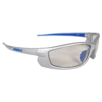 Voltage Safety Glasses - Silver Frame, Indoor/Outdoor Lens